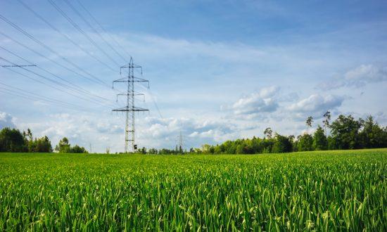 linie energetyczne wysokiego napięcia